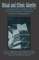 Ritual and Ethnic Identity Pdf/ePub eBook