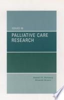 Issues in Palliative Care Research Book