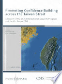 Promoting Confidence Building Across the Taiwan Strait
