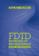 FDTD Modeling of Metamaterials  Theory and Applications