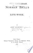 Norman Brill's Life-work