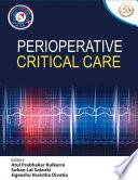 Perioperative Critical Care Book