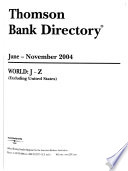 Thomson Bank Directory
