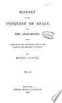 History of the Conquest of Spain by the Arab Moors Book