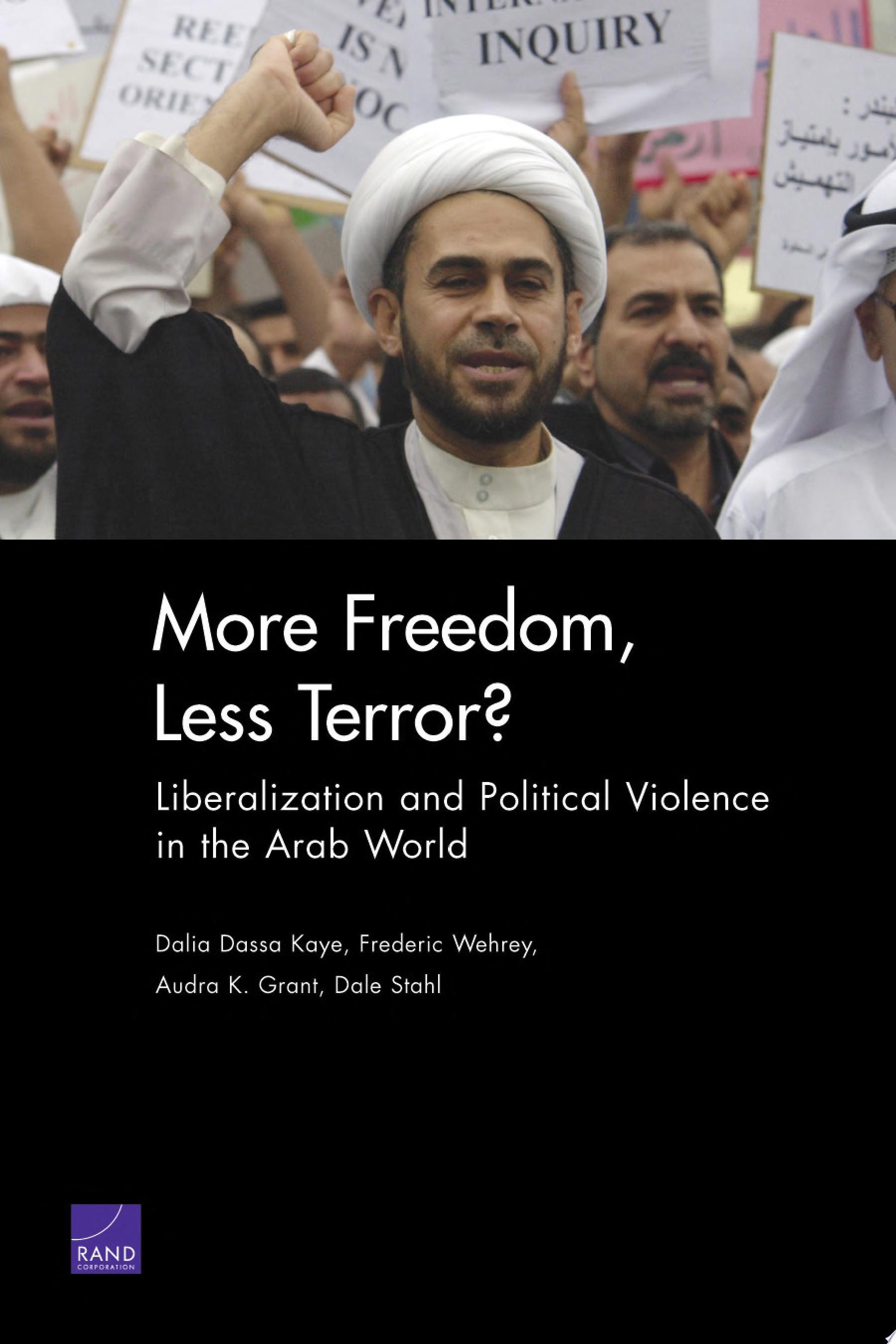 More Freedom  Less Terror