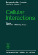 Pdf Cellular Interactions