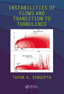 Instabilities of Flows and Transition to Turbulence