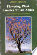 Flowering Plant Families of East Africa Book