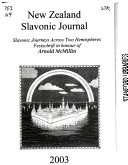 New Zealand Slavonic Journal