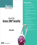 Microsoft Office Access 2007 Security  Digital Short Cut