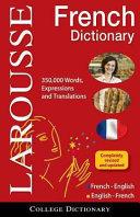 Dictionnaire Fran  ais anglais  Anglais fran  ais