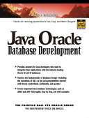 Java Oracle Database Development