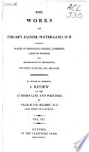 The Works Of The Rev Daniel Waterland