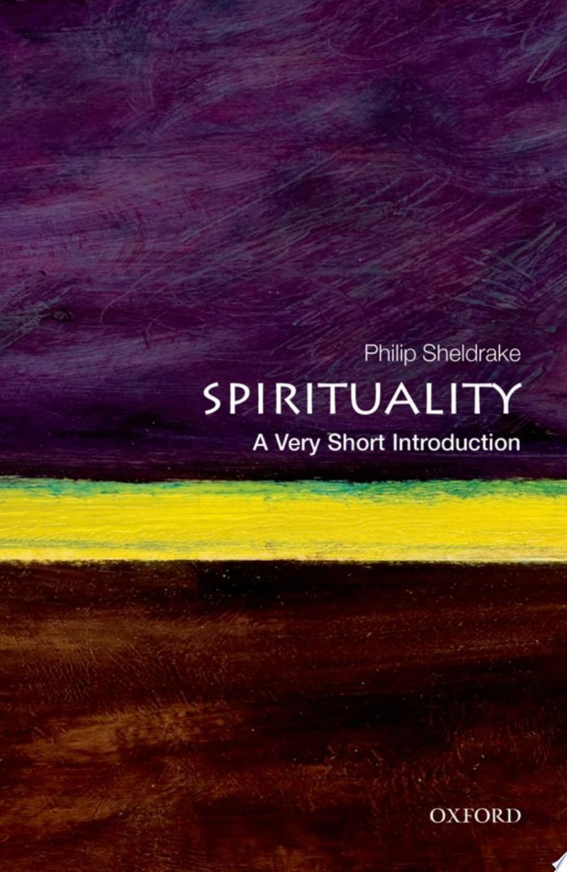 Spirituality: A Very Short Introduction banner backdrop