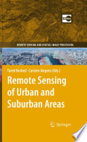 Remote Sensing of Urban and Suburban Areas Book