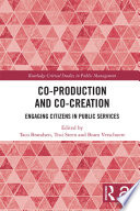 Co Production and Co Creation