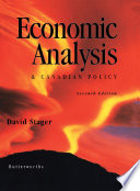 Economic Analysis Canadian Policy