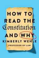 link to How to read the Constitution and why in the TCC library catalog