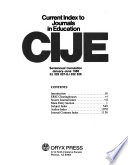 Current Index to Journals in Education Semi-Annual Cumulations, 1986