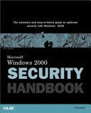 Microsoft Windows 2000 Security Handbook Book