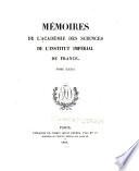 Mémoires de l'Académie des sciences