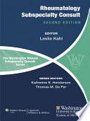 The Washington Manual of Rheumatology Subspecialty Consult