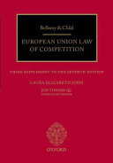 Bellamy and Child European Union Law of Competition Book
