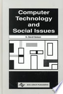 Download Computer Technology and Social Issues Book
