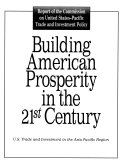 Building American Prosperity in the 21st Century