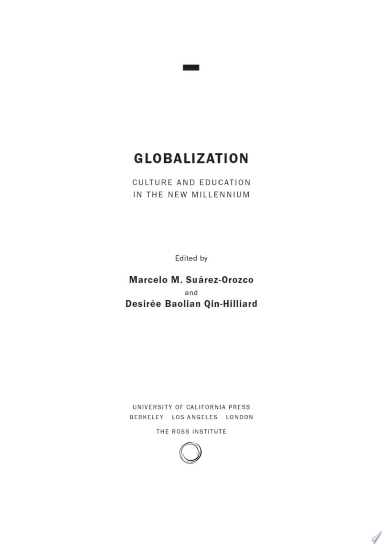 Globalization banner backdrop