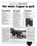 Our Water  Legacy in Peril