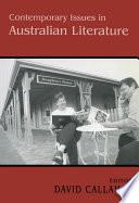 Contemporary Issues in Australian Literature