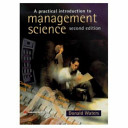 A Practical Introduction to Management Science Book