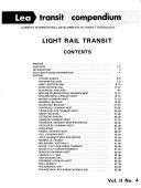 Lea Transit Compendium Book