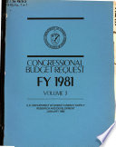 Congressional Budget Request