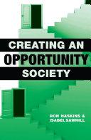 Creating an Opportunity Society [Pdf/ePub] eBook