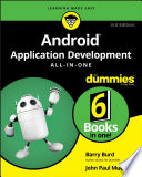 Android Application Development All in One For Dummies Book