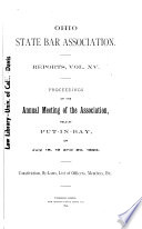 Proceedings of the ... Annual Meeting of the Association