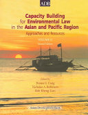 Capacity Building for Environmental Law in the Asian and Pacific Region