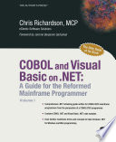 Cobol And Visual Basic On Net Book PDF