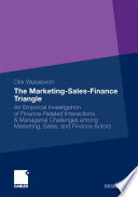 The Marketing Sales Finance Triangle