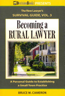 Becoming a Rural Lawyer