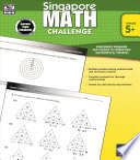 Singapore Math Challenge  Grades 5   8 Book