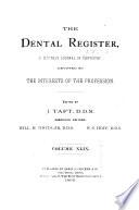 The Dental Register