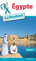 Guide du Routard Égypte 2016/17