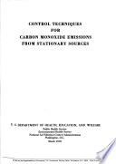 National Air Pollution Control Administration Publication