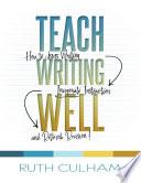 Teach Writing Well Book PDF