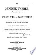 Genesee Farmer Book PDF