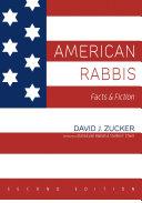 American Rabbis  Second Edition
