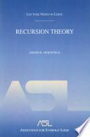 Recursion Theory